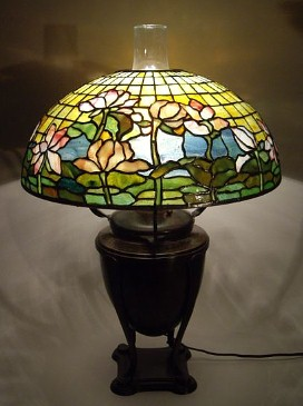 Tiffany Studios Lamps And Windows